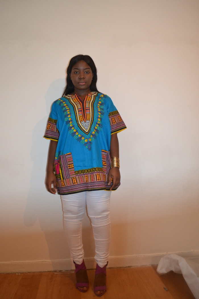 rihanna style african top